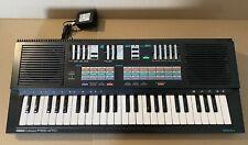 1987 Yamaha PSS-470 Digital Synthesizer Keyboard 49 Key w AC Adapter and Manual