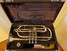 Yamaha YCR 2330 cornet with gold lacquer finish