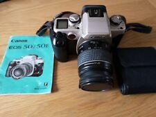 Canon EOS 50E 35mm SLR + Lens + Manual + Filters