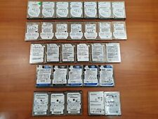"Lot of (30) 250GB Assorted 2.5"" SATA Hard Drives HDD - Seagate Toshiba WD + more"