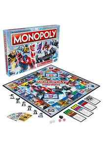 Transformers Edition Monopoly Board Game