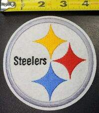 """Pittsburgh Steelers aprox. 4.25"""" Iron/Sew On Patch~FREE SHIPPING FROM U.S.~"""