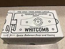 2 - Vintage Whitcomb Shed Door Latches for Swinging Doors Barn Door Latch New