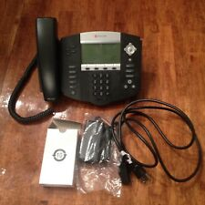 Lot of 10 ~ Polycom IP 560 Office Phones (With powercords)