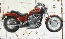 Honda VT600C Shadow 1998 Aged Vintage SIGN A3 LARGE Retro