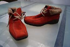 warme RIEKER Damen Winter Schuhe Stiefel Boots Stiefelette Gr.42 Leder gefüttert