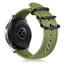 For Samsung Galaxy Watch 46mm & Gear S3 Watch Bands Soft Woven Nylon Sport Strap