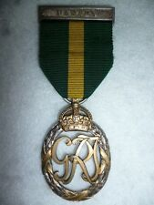 Canada Territorial Force Efficiency Decoration Medal to Royal Regiment of Canada