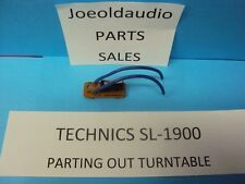 Technics Sl-1900 Micro Switch Assembly. Tested. Parting Out Sl-1900 Turntable*