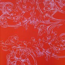 Marburg Tapete Glööckler 54119 Ornamento del paraíso de los niños Satén Rojo