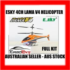 *ON SALE* - RC ESKY LAMA V4 4CH GYRO HELICOPTER - AUS SELLER - ORANGE COLOUR