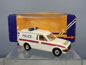 "CORGI  MODEL  MODEL No.C549       FORD ESCORT  ""POLICE""  VAN          VN MIB"