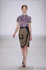 Rena Lange Collection Skirt SZ 4 USA Retail$1,395.00 NEW