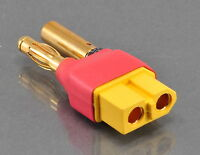 No Wires Connector - 4MM Male to Female XT60 Adapter - Turnigy / Gens Ace Lipo
