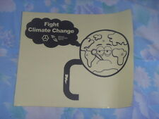 "Brand New ""Fight Climate Change"" sticker *Free postage"