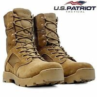 MENS TACTICAL ARMY COMBAT PATROL CADET MILITARY POLICE SECURITY ANKLE WORK BOOTS