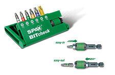 SPAX BITcheck T-Star plus / 6 Bits + Rapidaptor Bit-Halter Bitsatz 5000009181309