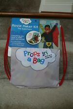 Props in a Bag Movie Maker Kit The Superhero Theatric Toys *Plus Free App*