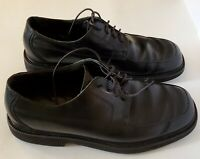 Rockport Mens Oxfords Shoes Black Leather Lace Up Casual Stitched 8M