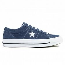 CONVERSE ALL STAR ONE STAR OX  NAVY BLUE SUEDE TRAINERS NEW UK 9.5