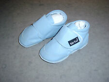 BABY PAWS LEATHER BABY BOYS VELCRO CRIB SHOES SZ 6 - 9 MONTHS BRAND NEW