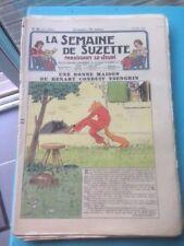 LA SEMAINE DE SUZETTE N°31 du 22906/1939 UNE BONNE MAISON OU RENAART CONDUIT
