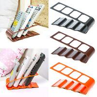 Durable VCR DVD TV Remote Control CellPhone Stand Holder 4 Slots Storage Tools