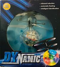 Hand Flying UFO Helicopter Ball Toy LED Hovering Saucer Infrared Sensor Floating
