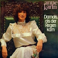"7"" ANNE KARIN Damals als der Regen kam EVERLY BROTHERS Crying In The Rain ALADIN"