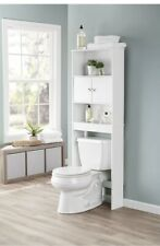 Bathroom Over The Toilet Storage Organizer Space Saving Cabinet With 3 Shelves