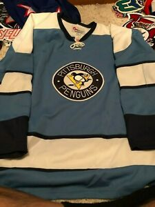 Pittsburgh Penguins throwback Replica Hockey Jersey  Monsport 52 back is blank