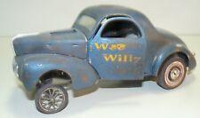 "1/18, custom 1941 Willys  ""Wee Willy""  unrestored, drag car, pro street,"