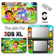 Dora The Explorer SKIN VINYL STICKER DECAL COVER for Nintendo 3DS XL