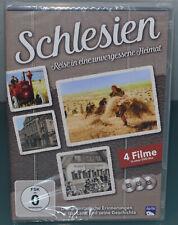 DVD - Schlesien - Reise in eine unvergessene Heimat  - 3 DVD's, 4 Filme - 2015