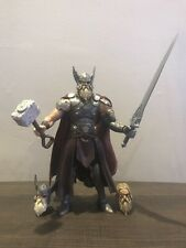 Marvel Legends Baf Complete King Thor  With Custom Heads