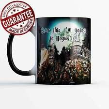 Harry Potter Mug Magic Hogwarts castle cup Screw this I'm Going To Hogwarts
