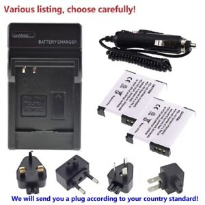 Battery or charger for Panasonic DMW-BCM13 DMW-BCM13E DMW-BCM13PP DMC-FT7 ZS50