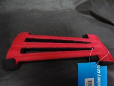 NEW AURORA ARCHERY DYNAMIC RED VENTED ADJUSTABLE YOUTH ARMGUARD $6.99 DISCOUNTED