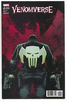 Venomverse 5 Marvel 2017 NM+ 1:50 Declan Shalvey Variant Venom Punisher Carnage