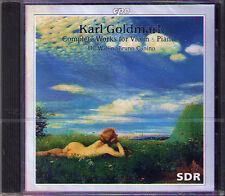 Karl GOLDMARK Suite for Violin & Piano ULF WALLIN BRUNO CANINO CD CPO Op.11 & 43