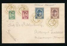 CZECHOSLOVAKIA 1935 MASARYK PRAGUE GOLDEN POSTMARK COMMEMORATIVE