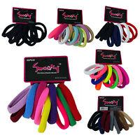 30 PCS Unit Elastic Hair Ties Band Rope Ponytail Scrunchies Hair Holder
