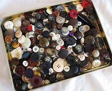 Buttons - 1 lb 2 oz - Collectible Celestial Seasonings Tin - Designer MOP & More