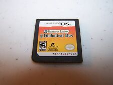 Professor Layton and the Diabolical Box (Nintendo DS) Lite DSi XL 3DS 2DS Game