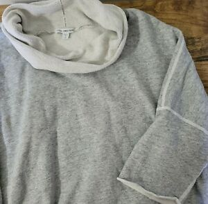 Standard James Perse Sweatshirt Cowl Neck 4 XL