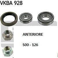 fiat 500-126 kit cuscinetti ruota anteriore