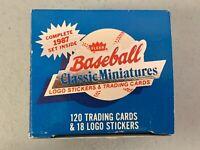 1987 Fleer Baseball Card Classic Miniatures Mini Factory Unsealed Set 120 Cards