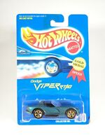 Hot Wheels Gold Medal Blue Card #210 DODGE VIPER RT/10 Green Variant w/Gold 5 Sp