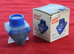 Vintage German Montblanc No.3 Fountain Pen Ink Plastic Ink Bottle Original