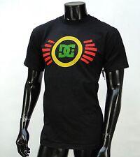 Dc shoes Team Usa skateboard Rasta Classic mens Black t shirt Small